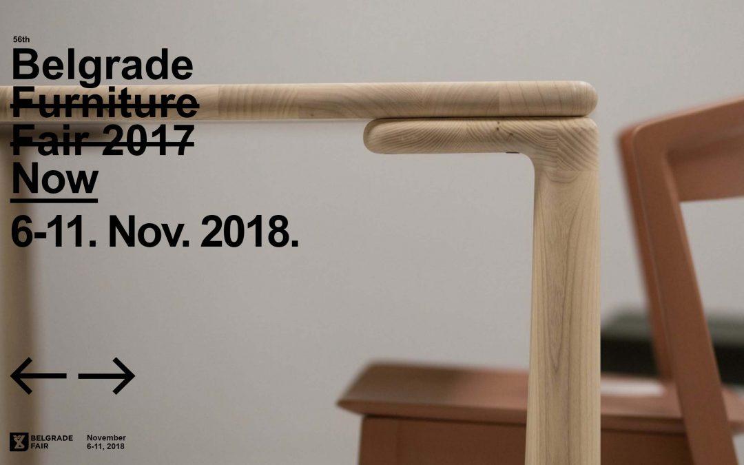 Visit Us at the Belgrade Furniture Fair, 6-11 November 2018
