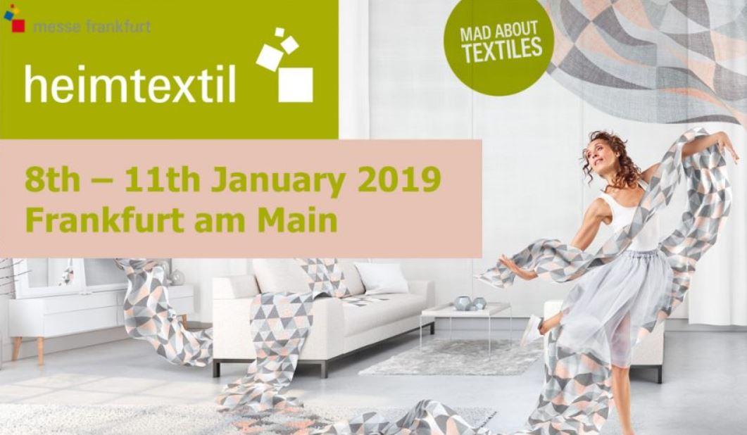 Heimtextil 2019 Announcement